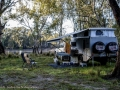 Camped on the Murrumbidgee