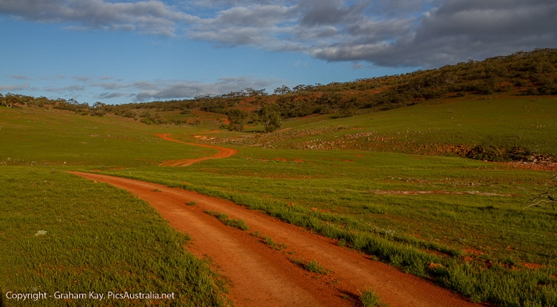 Exploring the Gawler Ranges NP