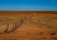 The dog fence - Near Coober Pedy