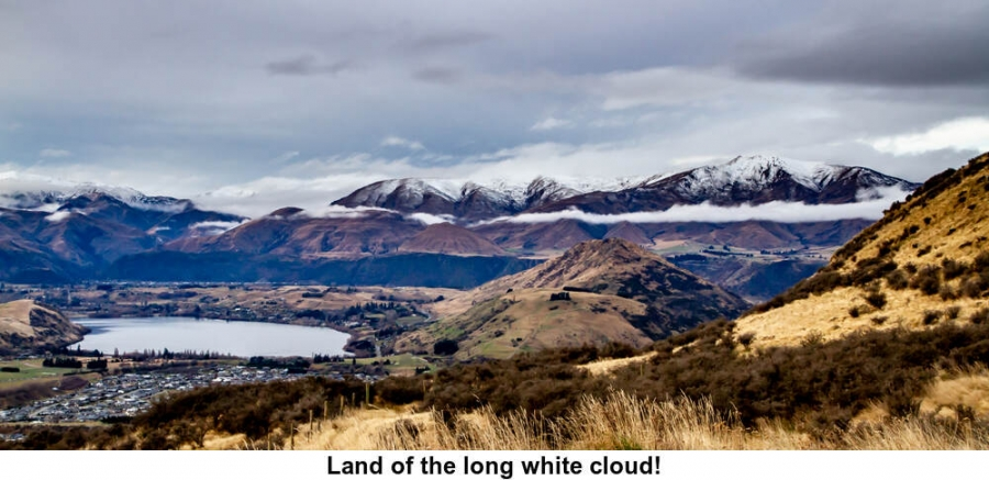 Land of the long white cloud!