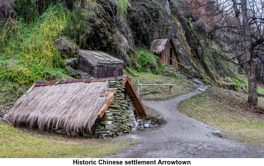 Historic Chinese settlement Arrowtown